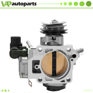 Throttle Body For 2003 2004 2005 Honda Accord Element Lx Ex Dx 2 4l Cable Drive