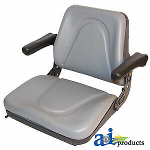 T500gy Bobcat Skid Steer Loader Seat W arms Fits Many Models