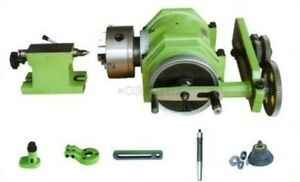 F11 100a Universal Dividing Head With 3 jaw Chuck Mt3 Taper For Mill Machine Qx