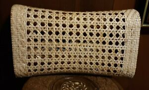 Antique 19th Century Chinese Opium Bed Bamboo Woven Pillow