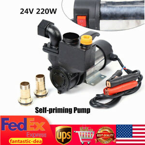 220w 1 Pressure Booster Water Stainless Steel Pump Self priming Double Suction
