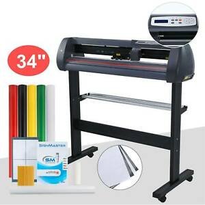 New 34 Vinyl Cutter Plotter Machine Sign Cutting Machine Sign Maker Lcd Plotter