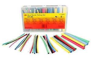 3m Automotive Products 37677 Heat Shrink Tubing Kit 133 piece