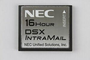 Nec 16 Hour Intramail 8 Port Flash Voice Mail Card 1091013 V2 1 Dsx80 Dsx160