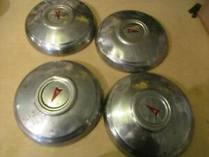 Pontiac Poverty Dogdish Hubcaps Set Of Four