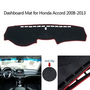 Car Dashboard Dash Mat Non slip Sun Cover Pad Mat For Honda Accord 2008 2013 Us
