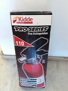 Kidde Pro Series 110 Fire Extinguisher Metal Valve Rechargeable Red