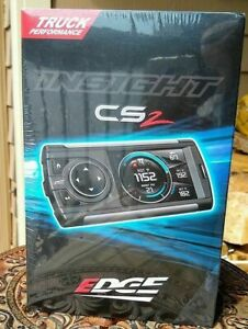 Edge Insight Cs2 Monitor Gauge Display 84030 For All 1996 Obd2 Vehicles New