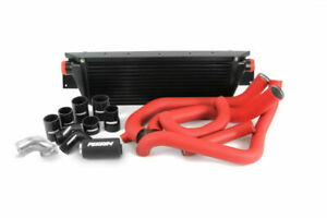 Perrin Front Mount Intercooler Fmic W Boost Pipings For 08 14 Wrx Black