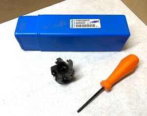 Valenite 2 Indexable Face Milling Cutter Vf90 as200 f075 3 4 Arbor New