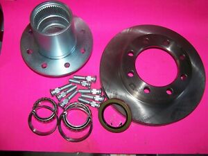 Gm Front Dana 60 Complete Single Wheel Hub And Rotor Assembly