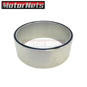 2 Aluminum Air Cleaner Spacer Riser O Ring Edelbrock Holley Sbc Bbc Chevy Ford