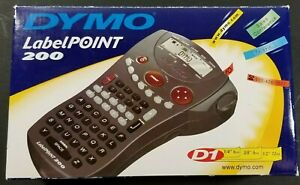 Dymo Labelpoint 200 Electronic Handheld Printer Label Maker New