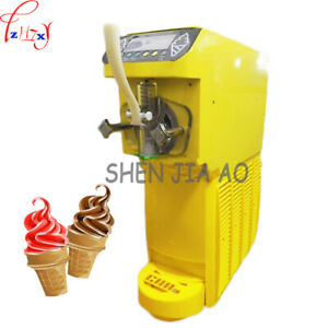 Commercial Soft Ice Cream Machine 16l h Soft Serve Home Made Ice Cream