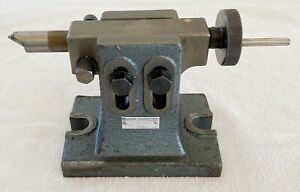 Yuasa Adjustable Tailstock 553 300 8 Rotary Table 5 31 Center Height Tailstock
