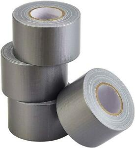 Lichamp Heavy Duty Silver Duct Tape Bulk Multi Pack Travel Duct Tape Small Roll