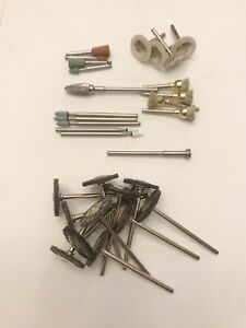 Lot Of Dental Polishing Brushes Cups Carbide Cutter Abrasive Points