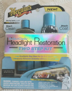 Meguiar s G2000 Perfect Clarity Headlight Restoration Two Step Kit