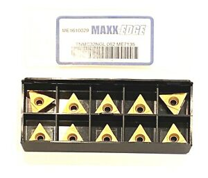 Maxx edge Carbide Grooving Insert Tnmc 32ngl 062 Grade Me7135 Inserts 10 Pack