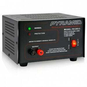 Pyramid Ps12kx ps 12kx 10 Amp 13 8v Constant Regulated Ac dc Power Supply