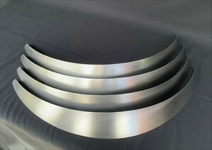 Universal Metal Fender Flares Style 2 2 Wide 4 Total hand made