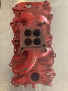 1967 3866948 Corvette Amp Chevelle Dated L306 396427 Holley 4b Intake Manifold