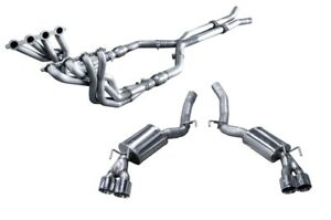 For 2012 2015 Camaro Zl1 Arh American Racing Catted Headers 1 7 8 To 3 Exhaust