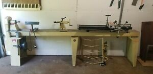 Wood Lathe And Dublicator Used Woodworking Power Tools
