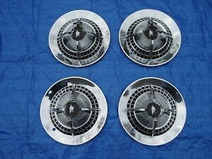 Pretty Set Of 1959 Dodge Coronet Royal Lancer 14 Spinner Wheelcovers Hubcaps