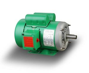 Farm Duty 2hp Electric Motor 1725rpm 145t Single Phase 7 8 Shaft 230 460v new