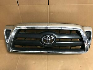 2005 2006 2007 2008 2009 2010 2011 Toyota Tacoma Front Upper Grille Chrome