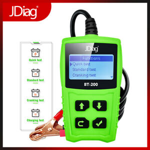 12v Car Battery Load Quick Testers Automotive Bad Cell Analyzer 100 2000 Cca Mca