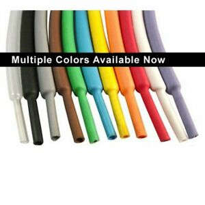 1 4 Heat Shrink Tubing 2 1 50ft red