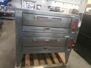 Hobart Hgs010b Commercial Double Roasting Bake Oven Nat Gas