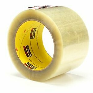 355 clear 72mmx50m Scotch Boxsealing Tape Clear 72 Mmx50 M pack Of 1
