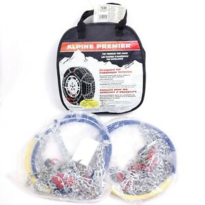New Alpine Premier Diamond Pattern Tire Snow Chains 1530 Laclede Les Schwab