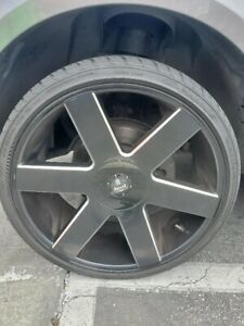 Rangreover Rims And Tires brand dub Size 275 30zr24