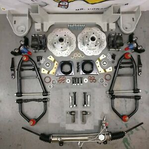 1964 1970 Ford Mustang Ii 2 Ifs Front End Suspension Kit No Coilovers 2 Drop
