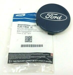 Ford F 150 Expedition Blue Ford Oval Center Wheel Cover Hub Cap Oem Fl3z 1130 B