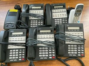 Nec Office Phone Bundle With Cordless Base And Vtech Coordless Phone