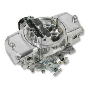 Demon Carburetor Spd 750 Ms 750 Cfm 4 Barrel Electric Choke Shiny Shiny