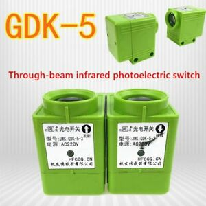Jwk Gdk 5 3 Gdk 5 5 Infrared Photoelectric Switch To Send Receive Ac220v