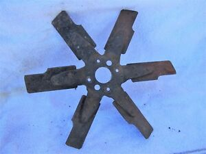 From A 1973 Mgb 6 Blade Cooling Fan