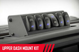 Rough Country Mlc 6 Multiple Light Dash Mount Kit 18 20 Wrangler Jl Gladiator Jt