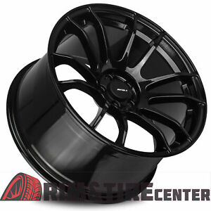 Avid1 Av20 18x9 5 38 5x114 3 Gloss Black Subaru Impreza Wrx Sti Set Of 4