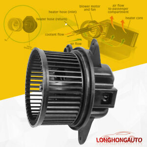 Ac Heater Blower Motor W Fan Cage For Jeep 97 01 Cherokee 99 01 Wrangler 4864952