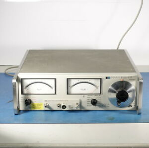 Hp Agilent 4800a Vector Impedance Meter 4801a Plugin 00610a Shield wrnty