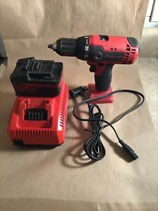 Snap On Cdr8815o 18 Volt 1 2 13mm Drill Driver W 1 Battery And Charger