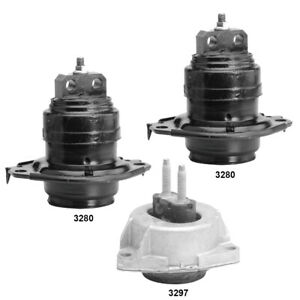 Engine Automatic Transmission Mounts Set 3pcs For Dodge Durango 3 6l