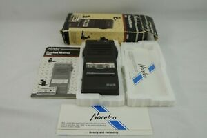 Norelco Pocket Memo 585 Nos With Box Tape Instructions